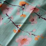 Volle Blumen-reagierendes gedrucktes Gewebe der Prozessions-Technik-Kunst-100%Cotton für Bettwäsche-Set