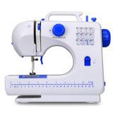 Máquina de coser Fhsm-506 de la personalización portable del punto de cadeneta del zigzag