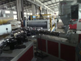 Impermeabilización de cubiertas de plástico de PVC+ASA hoja para arrojar que hace la máquina