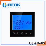 termóstato eléctrico del sitio de calefacción de suelo 16A con la función programable semanal