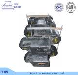 Hohe spiralige Zerkleinerungsmaschine Mangan-Stahl-KOMATSU-PC3000 zerteilt Spur-Schuh