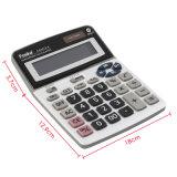 Calcolatore da tavolino dell'ufficio di energia solare delle 12 cifre