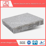 Le granit rigidité élevée aux chocs de placage de pierre d'aluminium panneaux de façade de l'architecture Honeycomb/ mur-rideau