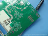 """1.2mm de Raad van dik 0.047 """" PCB van de Elektronika Niet geleidend via Vulling"""