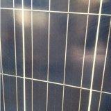 La salida del panel solar de 250W