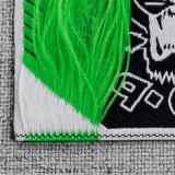 Corte a Laser de boa qualidade Garment Tecidos de etiquetas com preço barato