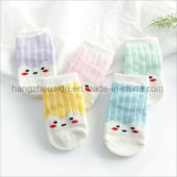 Neue Entwurfs-Jacquardwebstuhl-Baumwollbaby-Kleid-Socken