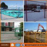 Painéis portáteis da cerca do Temp revestido do PVC da construção de x10 do canadense 6 '