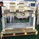 Computergesteuerte Wonyo 2 Kopf-Hochgeschwindigkeitscomputer-Schutzkappen-Stickerei-Maschine