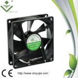 Delta initial 80X80X25 8025 ventilateur axial à faible bruit de Shenzhen Xinyujie de 3 fils