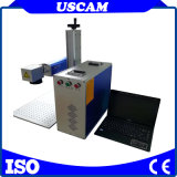 Металлические Nonmetal 30W 20Вт портативный мини-оптического волокна станок для лазерной маркировки в Интернете