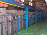 El sistema de la electroforesis para el metal perfila la capa superficial