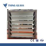 4-6mm de vidro da fresta com bordas polidas