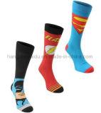Zeichentrickfilm-Figurpatten-Entwurfs-Mannschafts-Kind-Socke