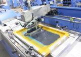 Multicolors тканого этикетки печать на экране машины с двух сторон печати