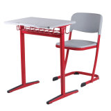 학교 가구 저가를 가진 현대 디자인에 있는 대중적인 사용된 단 하나 학생 책상 그리고 의자