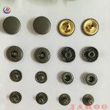 Personalizar o botão de retenção de metal de alta qualidade para Jean Jacket