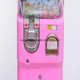 硬貨によって作動させるゲーム・マシンのカプセルのおもちゃの自動販売機