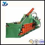 Verwendete Altmetall-Ballenpresse für den Aluminiumfolie-Behälter, der Maschine herstellt
