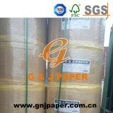 Papier-copie sans carbone de qualité supérieur pour l'usage de côté