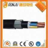 Fio eléctrico com isolamento de PVC e o cabo G Isolados em XLPE vermelho do cabo de alimentação