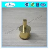 Connecteur anodisé par couleur d'or en aluminium de usinage de précision de commande numérique par ordinateur de la Chine