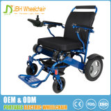 FDA cadeira de rodas elétrica poderosa Foldable de pouco peso de um Brushlesss de 12 polegadas