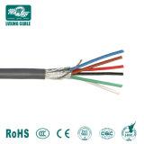 Conducteur de cuivre isolés en PVC du câble de commande de bandes en acier blindé