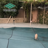 Custom-Made en terreno piscina cubiertas de malla de mantener su piscina limpia y clara