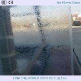 Стекло цветка льда, декоративное стекло