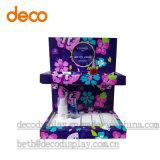 Visualización de papel cosmética de la tapa contraria de Casee de la visualización para la venta al por menor