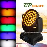 36X18W RGBWA UV 6in1 세척 급상승 LED 직업적인 가벼운 이동하는 헤드