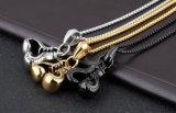 Серебр/чернота/шкентель Ворота De Cadena Холодн нержавеющей стали ювелирных изделий бокса ожерелья перчатки бокса способа золота покрынный ожерельем миниый