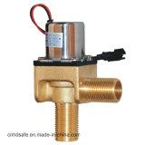 Grifo elegante de cierre automático de la venta del lavabo del golpecito de cobre amarillo caliente de la cascada