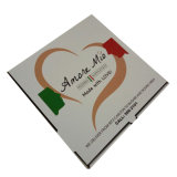 Caja de cartón impresión personalizada Pizza caja con diseño libre