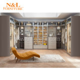 N&L Garderoben-Frisierkommode-Schlafzimmer kleidet Schrank mit Regal