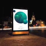 Средства осветили стоящую индикацию напольный рекламировать Lightbox Mupi