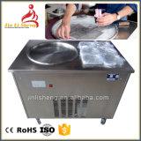Pan de congélation en acier inoxydable de la crème glacée plaque froide de la machine pour faire de rouleau de crème glacée