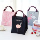 Mittagessen-Kasten-Handtaschen-wasserdichter Handtaschen-Segeltuch-Isolierungs-Beutel