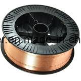 変化によって芯を取られる溶接ワイヤE81t1を耐摩耗加工するドラムパッキング