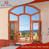 Billigaluminiumflügelfenster-Fenster mit Bogen-Entwurf