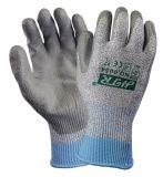 PU покрытием Super Cut устойчив против истирания безопасности рабочие перчатки