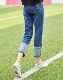Denim-Jeans-Hosen-Frauen des Zolls