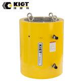 600 cilindro temporario doble del alto tonelaje del movimiento de la tonelada 300m m