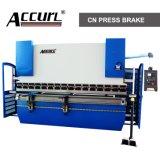 Placa de metal dobradeira hidráulica CNC, máquina de dobragem de folhas de metal da caixa