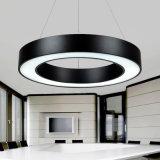 Pendentif en acrylique ronde moderne de LED Lampes pour l'Hall