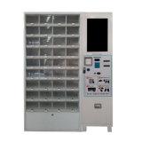 Máquina expendedora de frutas envasados para respaldar el pago con tarjeta