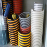 PVC 나선에 의하여 강화되는 물 흡입 호스
