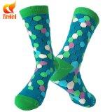 Bunte Dame-normale Kleid-Socken-Frauen-Socken