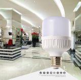 9W Lámpara de iluminación LED de aluminio de plástico